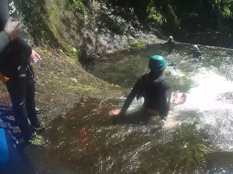 ACTION REPORTAGE CANYONING
