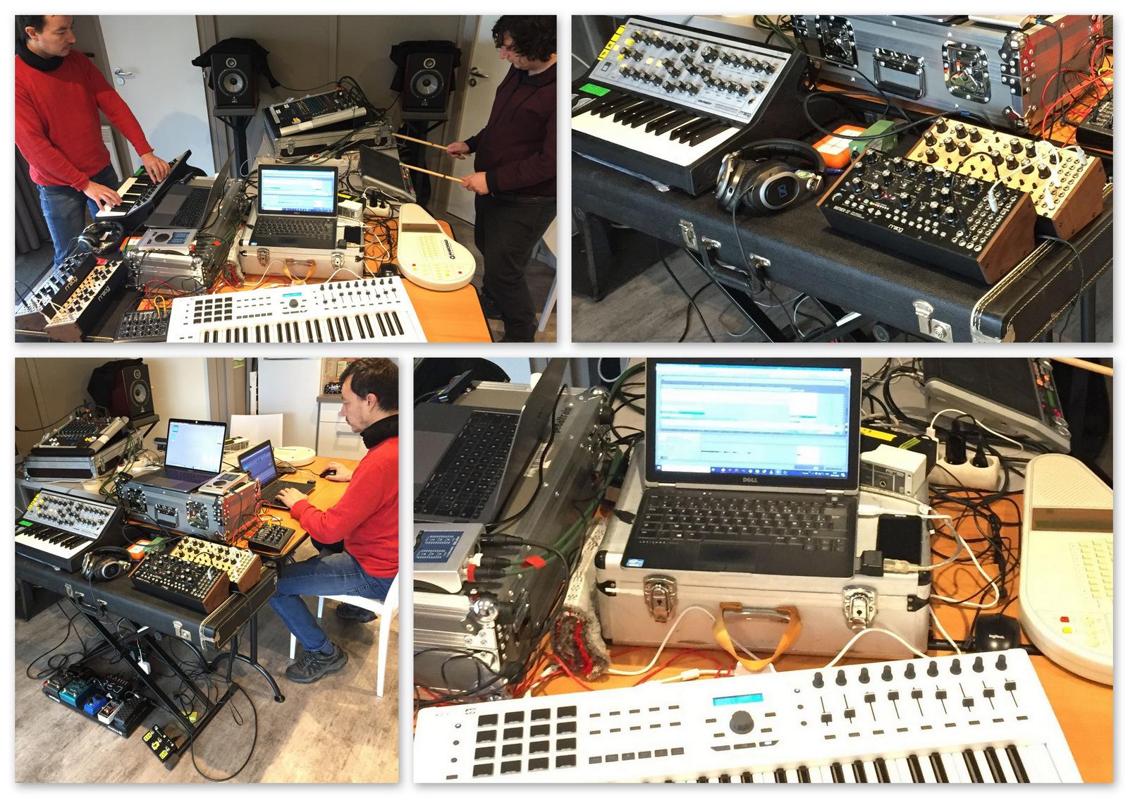 Manu, Rémi et guillaume ont réalisé la bande sonore du jeu à partir de leur studio M.A.O. Les 8 morceaux, correspondants aux différents niveaux du jeu, ainsi que les bruitages ont été réalisés en 3 jours, apportant une nouvelle dimension au jeu.